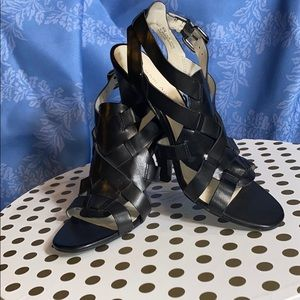 Brand New Etienne Aigner black heels!
